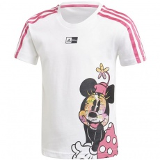 Adidas Little Girls Disney Minnie Mouse Tee Junior GM6922