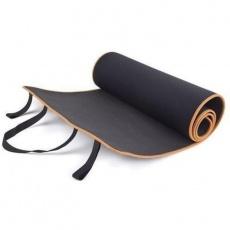 Exercise mat 180 x 60 cm Allright black and orange