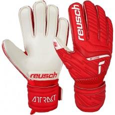 Attrakt Goalkeeper Gloves Silver Jr 51 72 215 3002