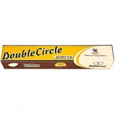Double Circle table tennis balls 6 pcs. White