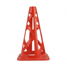 Cone with holes Meteor 23cm red