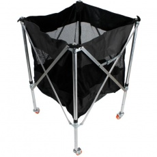 Folding ball trolley