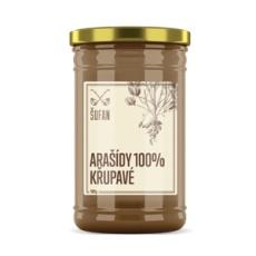 Arašídy 100% pražené mělněné křupavé 1000g (Arašídový krém křupavý)