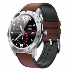 GT22S light brown leather smartwatch