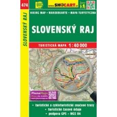 mapa cyklo-turistická Slovenský ráj, 474 (4106)