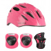 Helma s chrániči NILS Extreme MTW01+H210 růžová