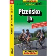 mapa cyklo Plzeňsko jih,132