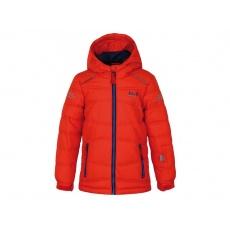 bunda dětská LOAP FALDA zimní oranžová