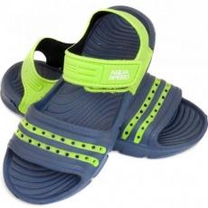 Aqua-speed Noli sandals dark blue green Kids col. 48