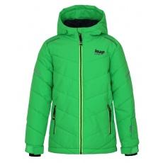 bunda dětská LOAP FURIO zimní zelená