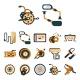 Komponenty, náhradní díly