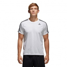 Adidas D2M TEE 3S M BK0971 training shirt