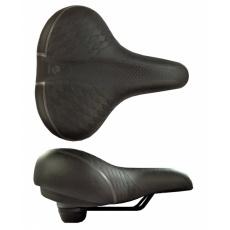 sedlo DDK D2510 Comfort Artwork černé s elastomery