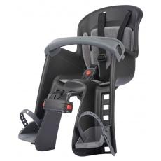 sedačka Polisport Bilby Junior přední  s předním úchytem černo-tmavě šedá