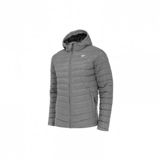 Jacket 4F M H4Z20-KUMP004 Medium gray melange