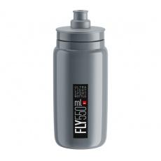 lahev ELITE FLY 20 šedá/černé logo 550 ml