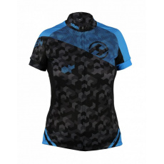 dres krátký pánský HAVEN SINGLETRAIL černo/modrý
