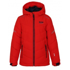 bunda dětská LOAP FURIO zimní červená