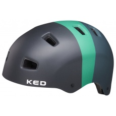 přilba KED 5Forty L black green matt 57-62 cm