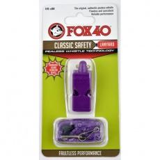 FOX Classic whistle + string purple
