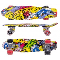 Pennyboard CALE ENERO GRAFFITI LED 1030869