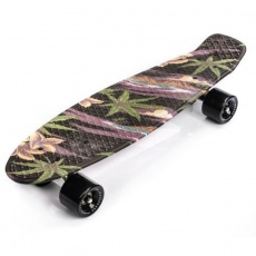 Flowers Black skateboard