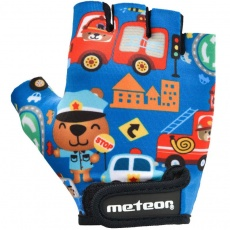 Cycling gloves Meteor Safe City Junior 26178-26179-26180