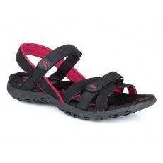 boty dámské LOAP COMPRESA sandály černo/růžové