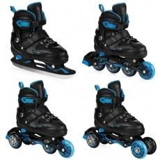 Inline skates Quattro 4in1 929 196-929197-929198