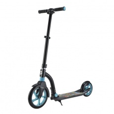 Aluminum scooter with foot