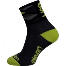 ponožky ELEVEN Howa Rhomb Green vel. 2- 4 (S) černé/zelené