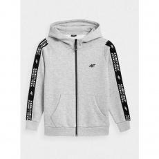 4F Junior sweatshirt HJZ21-JBLM003A Gray
