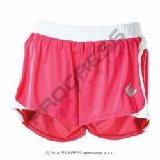 kalhoty krátké dámské Progress ALFA růžové