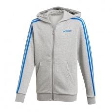 Adidas Essentials 3S Full Zip Hoodie JR DX2472