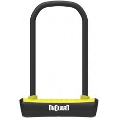zámek ONGUARD podkova 115x230x11mm žlutá