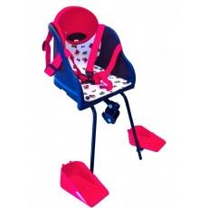 sedačka Hota 01-A přední pro pánské kolo modro-červená