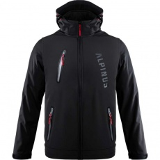 Alpinus Denali softshell jacket black M BR43381