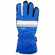Ski gloves 4F cobalt H4Z20-REM006 36S