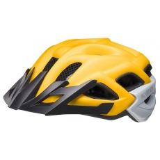 přilba KED Status Junior M yellow black matt 52-59 cm