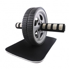 Allright double wheel with mat