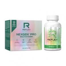 Nexgen® PRO 90 kapslí NEW + Omega 3 90 kapslí ZDARMA