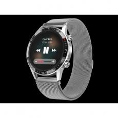 Watch, smartwatch Gentleman GT silver, steel