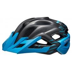 přilba KED Status Junior S black blue matt 49-54 cm