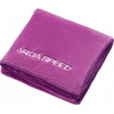 Aqua-speed Dry Coral towel 350g 50x100 purple 09/157