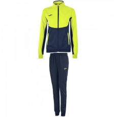 TRACKSUIT ESSENTIAL MICROFIBER NAVY BLUE-YELLOW WOMEN