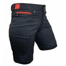 kalhoty krátké dámské HAVEN AMAZON černo/červené