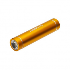 Powerbank 2600mAh micro USB / Lightning gold