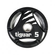 Olympic plate tiguar PU 5 kg