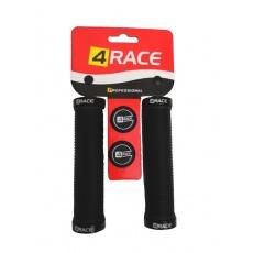 gripy 4RACE  2x Lock 130mm černé