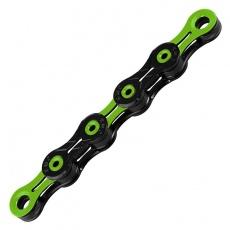 řetěz KMC DLC 10 Super Light zeleno/černý v krabičce